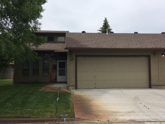 共管式独立产权公寓 为 销售 在 17 W ASHLEY PARK ESTATES Drive Vernal, 犹他州 84078 美国