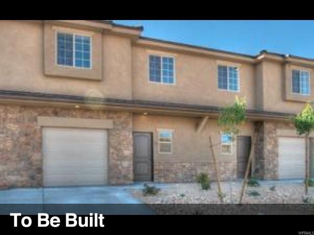 Casa unifamiliar adosada (Townhouse) por un Venta en 290 W BUENA VISTA Boulevard 290 W BUENA VISTA Boulevard Washington, Utah 84780 Estados Unidos