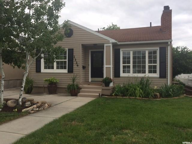 Home for sale at 1334 E Crandall Ave, Salt Lake City, UT  84106. Listed at 469900 with 3 bedrooms, 2 bathrooms and 2,300 total square feet