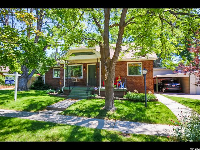 418 E HARRISON, Salt Lake City UT 84115