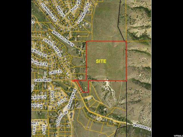 Земля для того Продажа на 255 CANYON Road Providence, Юта 84332 Соединенные Штаты