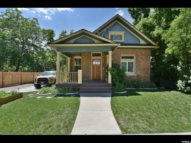 Home for sale at 562 S Elizabeth St, Salt Lake City, UT  84102. Listed at 415000 with 3 bedrooms, 2 bathrooms and 1,817 total square feet