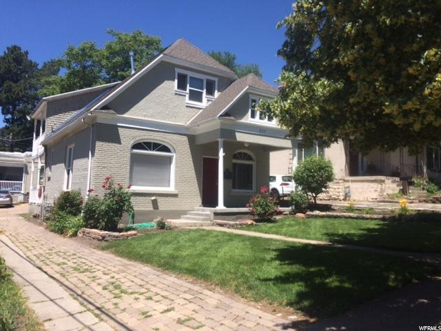 Home for sale at 327 N C St, Salt Lake City, UT  84103. Listed at 445000 with 4 bedrooms, 3 bathrooms and 2,552 total square feet