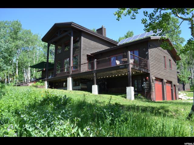 Single Family for Sale at 1992 CHIPMUNK WAY Wanship, Utah 84017 United States