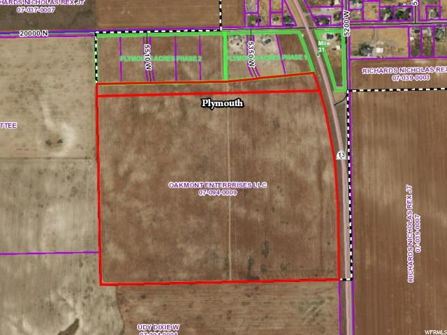 Land for Sale at 5350 W 19900 N Plymouth, Utah 84330 United States
