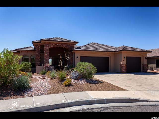 Single Family for Sale at 627 S 1950 W Circle 627 S 1950 W Circle St. George, Utah 84770 United States