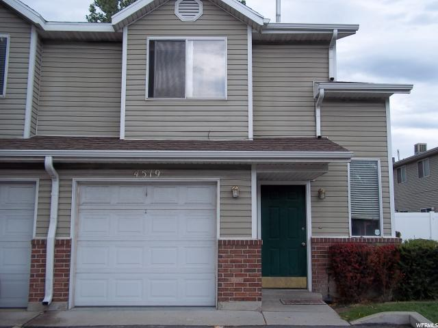 Home for sale at 4519 S Arcadia Green Way, Salt Lake City, UT  84107. Listed at 199900 with 3 bedrooms, 3 bathrooms and 1,250 total square feet