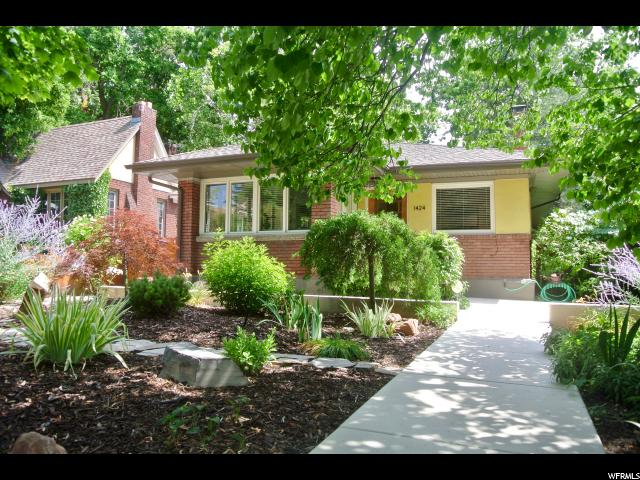 Home for sale at 1424 E Harrison Ave, Salt Lake City, UT  84105. Listed at 509900 with 4 bedrooms, 1 bathrooms and 2,135 total square feet