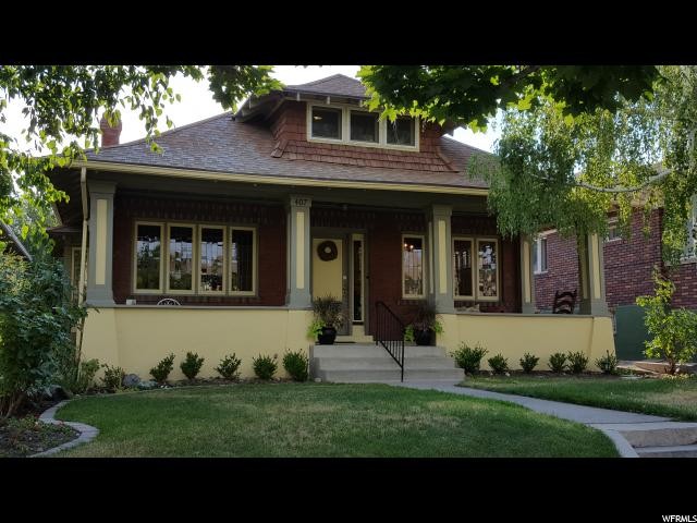 Home for sale at 407 B St, Salt Lake City, UT 84103. Listed at 587000 with 3 bedrooms, 2 bathrooms and 3,068 total square feet