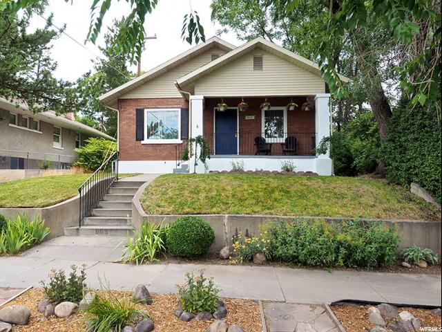 Home for sale at 865 S 1100 East, Salt Lake City, UT  84102. Listed at 399900 with 3 bedrooms, 1 bathrooms and 2,101 total square feet