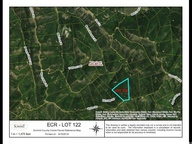 土地 为 销售 在 122 ELKRIDGE Road Echo, 犹他州 84024 美国