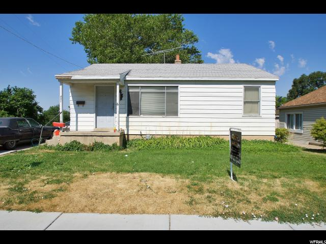 Single Family for Sale at 421 S HARRISON Boulevard 421 S HARRISON Boulevard Ogden, Utah 84404 United States