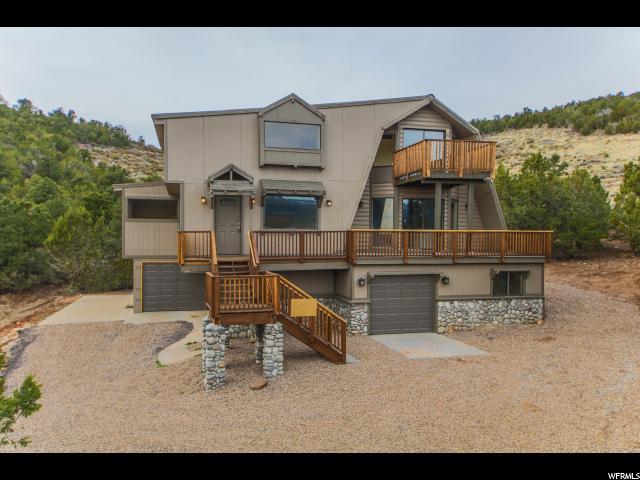 Один семья для того Продажа на 210 W MATT DILLON Trail Central, Юта 84722 Соединенные Штаты