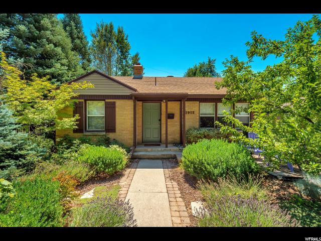Home for sale at 1912 E Redondo Ave, Salt Lake City, UT 84108. Listed at 390000 with 3 bedrooms, 2 bathrooms and 1,656 total square feet