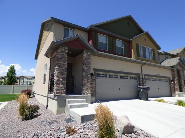 Townhouse for Sale at 1219 N SILVER CREST Drive 1219 N SILVER CREST Drive Saratoga Springs, Utah 84045 United States