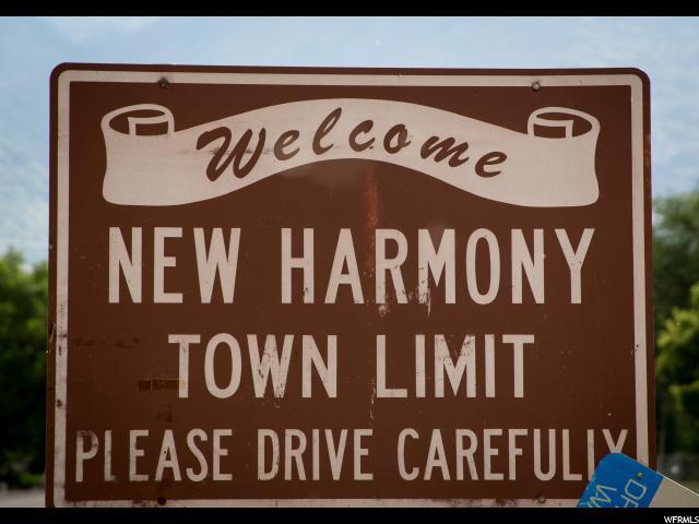 10 E HARMONY MT. RD New Harmony, UT 84757 - MLS #: 1466250