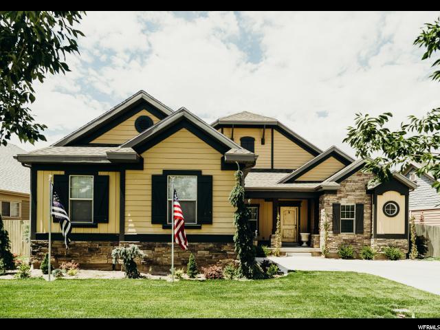Один семья для того Продажа на 4933 N SHADY BEND Lane Lehi, Юта 84043 Соединенные Штаты