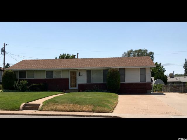 Single Family للـ Sale في 167 W 1300 N Sunset, Utah 84015 United States
