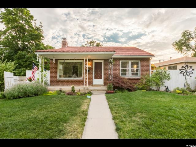 Home for sale at 1920 S 1600 East, Salt Lake City, UT  84105. Listed at 384900 with 3 bedrooms, 2 bathrooms and 1,500 total square feet