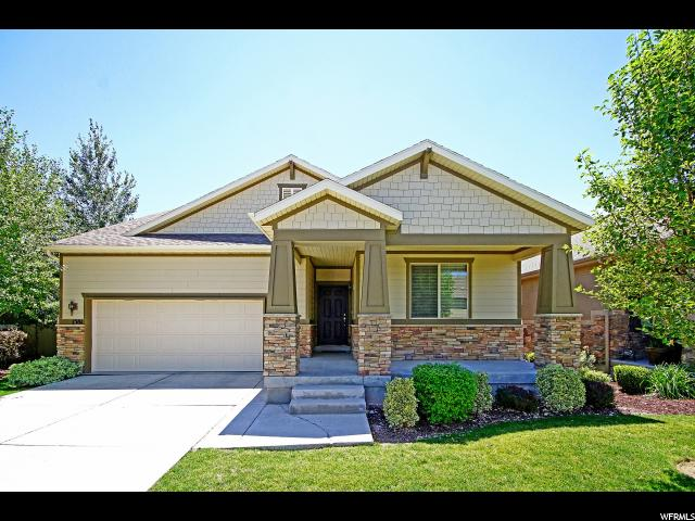 Single Family للـ Sale في 1581 W VILLAGE GROVE Lane 1581 W VILLAGE GROVE Lane South Jordan, Utah 84095 United States