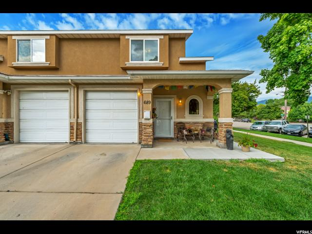 Home for sale at 689 S Egli Ct #1, Salt Lake City, UT  84102. Listed at 255000 with 3 bedrooms, 3 bathrooms and 1,084 total square feet