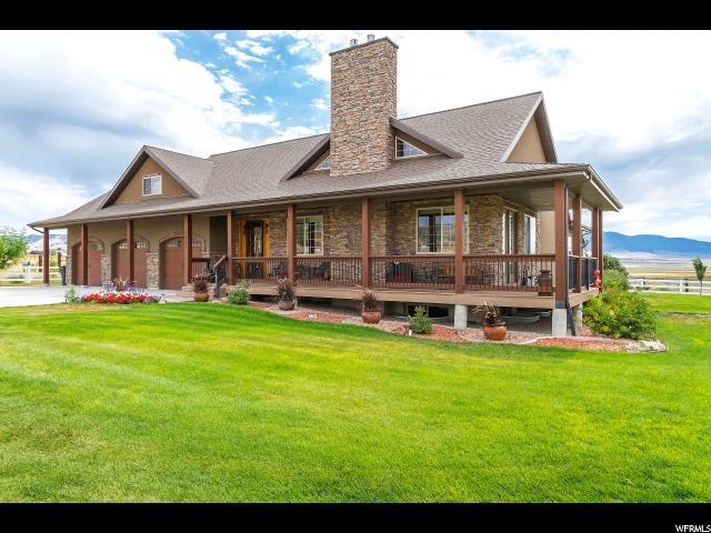 Unifamiliar por un Venta en 1141 S HOGANS Road Stockton, Utah 84071 Estados Unidos