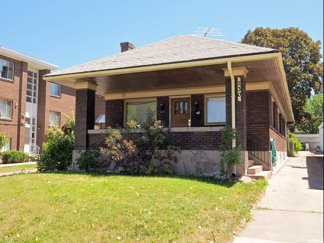 Home for sale at 230 N 200 West, Salt Lake City, UT 84106. Listed at 309000 with 4 bedrooms, 2 bathrooms and 2,212 total square feet
