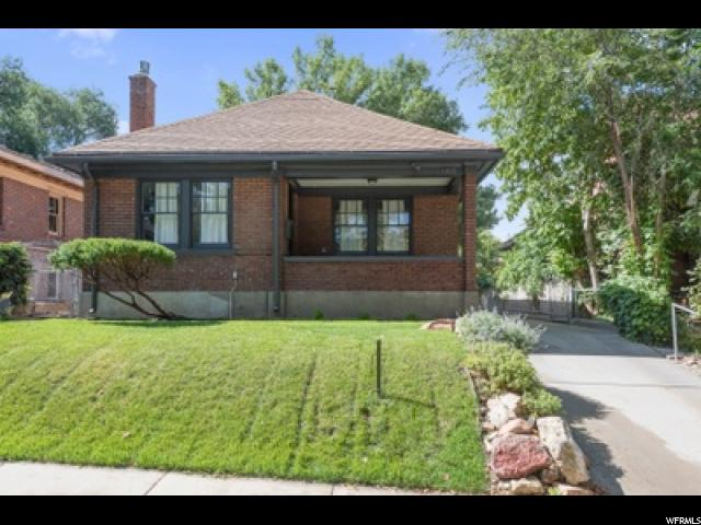 Home for sale at 1168 E Laird Ave, Salt Lake City, UT  84105. Listed at 419000 with 2 bedrooms, 1 bathrooms and 1,519 total square feet