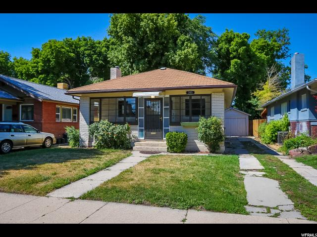 Home for sale at 323 E Ramona Ave, Salt Lake City, UT  84115. Listed at 272500 with 3 bedrooms, 1 bathrooms and 1,650 total square feet