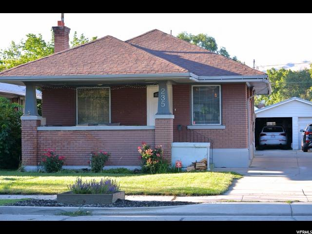 Home for sale at 235 E Hampton Ave, Salt Lake City, UT 84111. Listed at 315000 with 2 bedrooms, 1 bathrooms and 1,830 total square feet