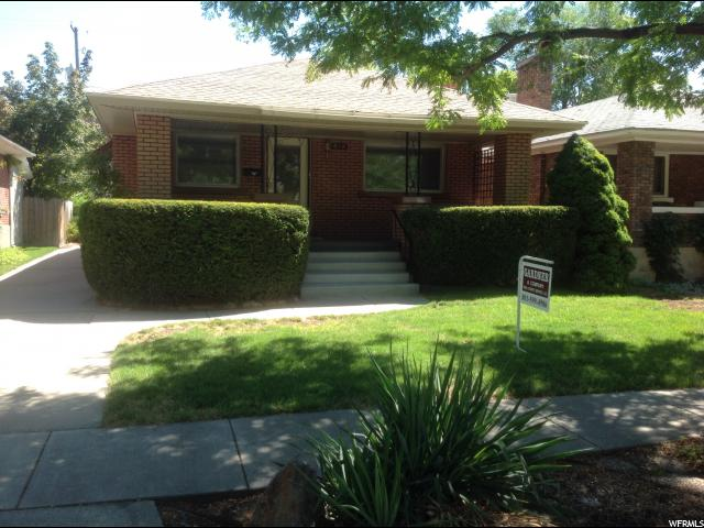 Home for sale at 614 E Milton, Salt Lake City, UT 84105. Listed at 294900 with 4 bedrooms, 2 bathrooms and 1,533 total square feet
