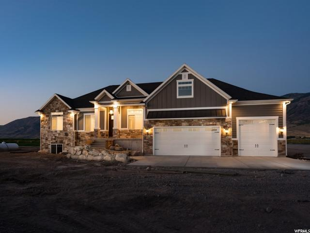 Single Family for Sale at 3430 W WINDY POPLARS Road Honeyville, Utah 84314 United States