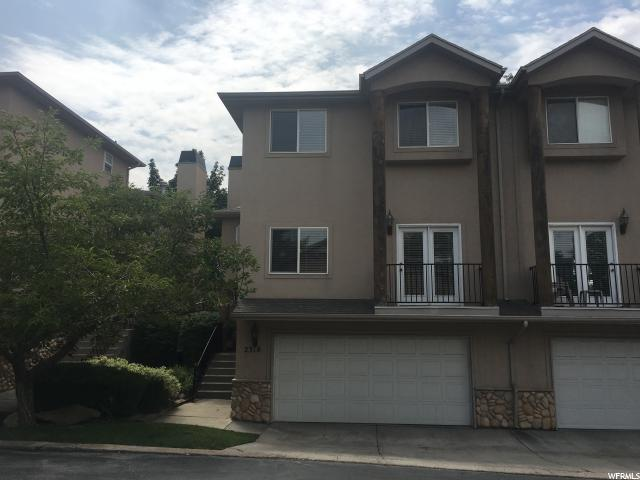 Townhouse for Sale at 2318 E SKY PINES Court 2318 E SKY PINES Court Holladay, Utah 84117 United States