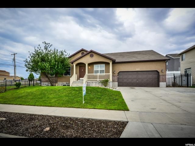 Single Family for Sale at 6015 W VISTA MESA Drive 6015 W VISTA MESA Drive West Valley City, Utah 84128 United States