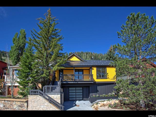 Single Family for Sale at 505 WOODSIDE Avenue Park City, Utah 84060 United States