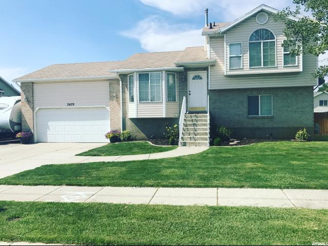 Single Family for Sale at 2670 W 4000 S Roy, Utah 84067 United States