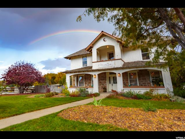 Single Family for Sale at 176 N 100 W Mendon, Utah 84325 United States