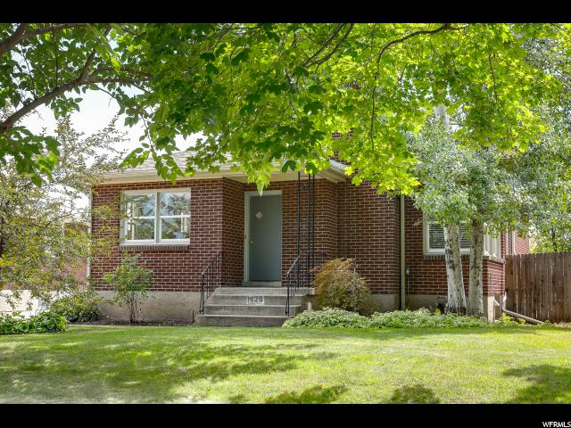 Home for sale at 1428 E Ramona Ave, Salt Lake City, UT  84105. Listed at 439000 with 4 bedrooms, 2 bathrooms and 1,964 total square feet