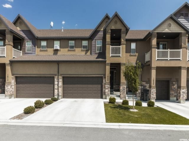 Townhouse for Sale at 1608 N CATAGENA PKWY 1608 N CATAGENA PKWY Saratoga Springs, Utah 84045 United States