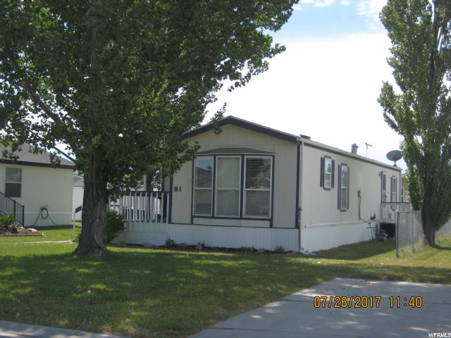 Additional photo for property listing at 900 W MAIN, #81  Tremonton, Utah 84337 Estados Unidos