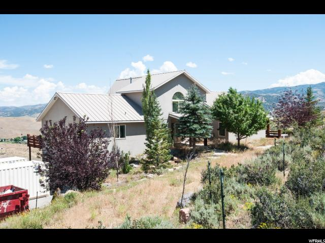 Single Family for Sale at 2501 OVERLOOK Court Wanship, Utah 84017 United States