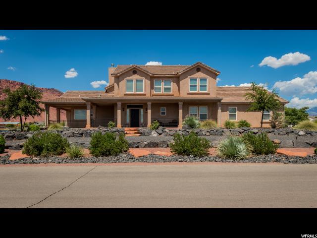 Single Family for Sale at 873 E MESA VISTA Road 873 E MESA VISTA Road Ivins, Utah 84738 United States