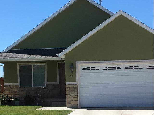Single Family for Sale at 470 E 1080 S 470 E 1080 S Roosevelt, Utah 84066 United States