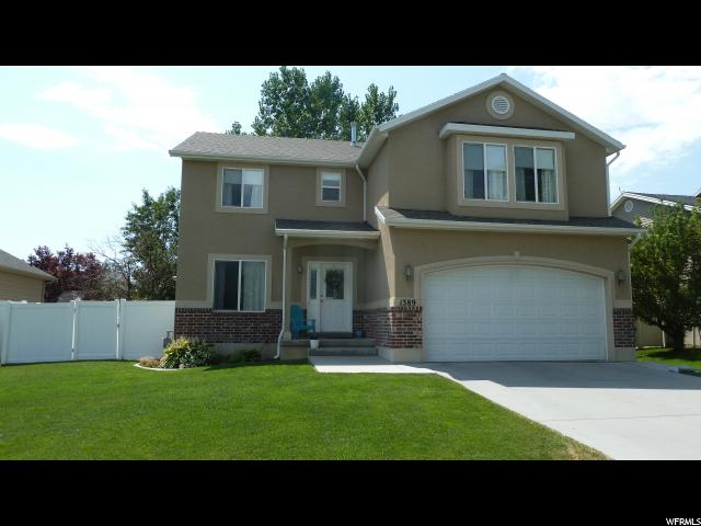 单亲家庭 为 销售 在 1389 N 60 W Layton, 犹他州 84041 美国