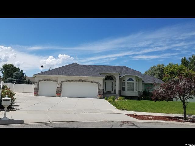 Single Family for Sale at 1534 W KODIAK CREEK Court 1534 W KODIAK CREEK Court South Jordan, Utah 84095 United States
