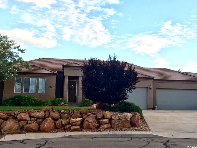 Single Family for Rent at 3437 ROBBIN Court Santa Clara, Utah 84765 United States