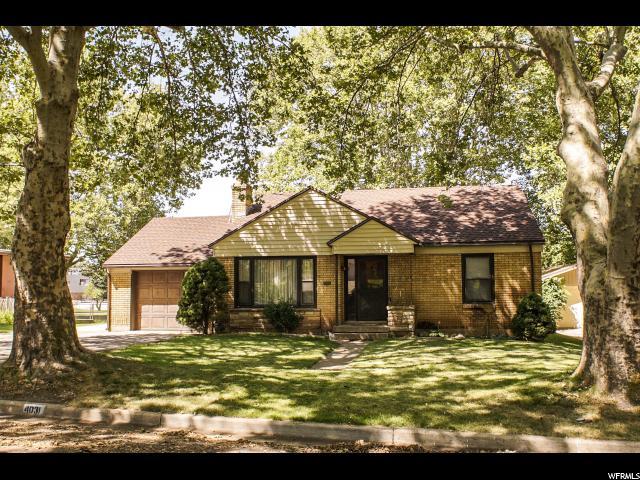 Single Family للـ Sale في 4031 S LIBERTY Avenue South Ogden, Utah 84403 United States
