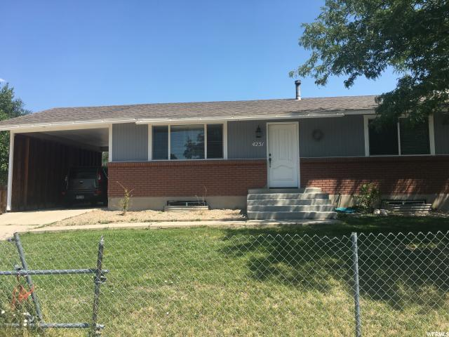 Single Family for Sale at 4231 S BROOKFIELD WAY West Valley City, Utah 84120 United States