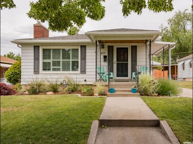 Home for sale at 1977 E Ramona Ave, Salt Lake City, UT  84108. Listed at 455000 with 4 bedrooms, 2 bathrooms and 2,262 total square feet