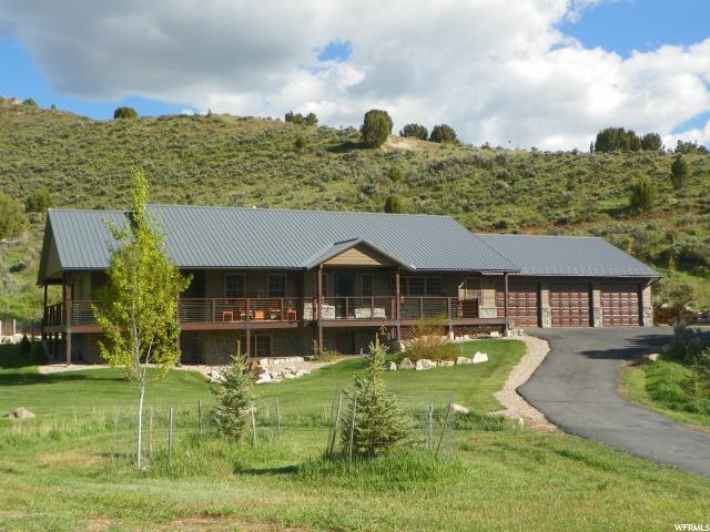Single Family للـ Sale في 615 E CHERRY CANYON Drive 615 E CHERRY CANYON Drive Wanship, Utah 84017 United States